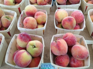 Delicious Glastonbury Peaches!